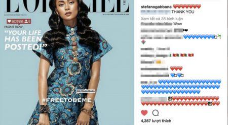 Mau Thuy xuat hien tren Instagram cua nha mot Y Dolce & Gabbana - Anh 1