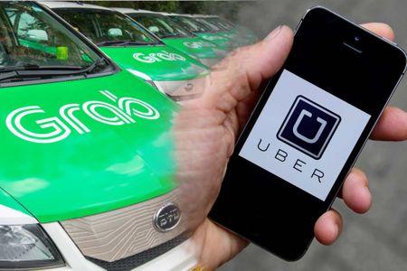 Bo Tai chinh 'bac' y kien cho rang thue Uber, Grab chua cong bang - Anh 1
