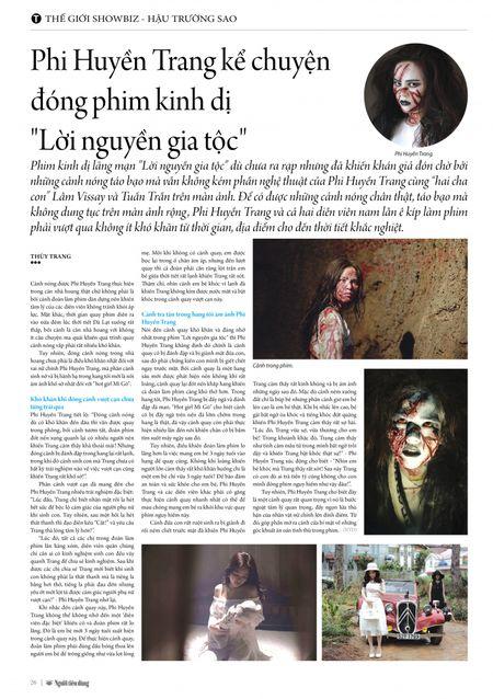 """Phi Huyen Trang ke chuyen dong phim kinh di """"Loi nguyen gia toc"""" - Anh 6"""
