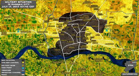 Chien su Syria: Nguoi Kurd tu chien IS, chiem duoc 35% dien tich Raqqa - Anh 1