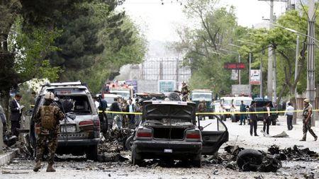 Hang loat vu khung bo om bom tu sat nham vao Afghanistan - Anh 1
