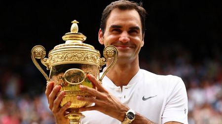 The thao 24h: Federer lap ki luc khung sau khi vo dich Wimbledon 2017 - Anh 1
