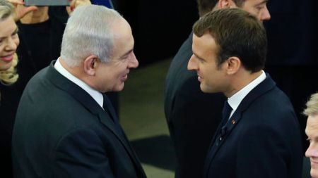 Tong thong Phap keu goi Israel va Palestine noi lai doi thoai - Anh 1