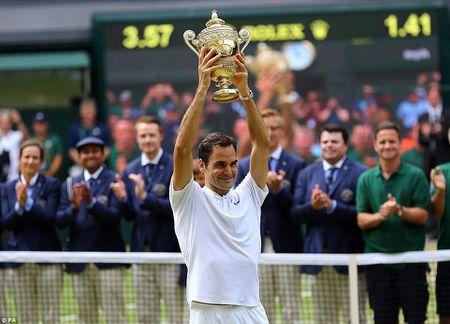 Chung ket Wimbledon: Federer vo dich nhu mo, Cilic bat khoc giua tran - Anh 1