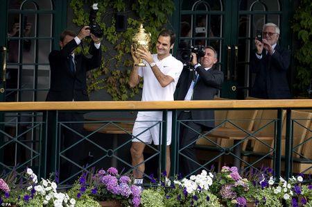 Chung ket Wimbledon: Federer vo dich nhu mo, Cilic bat khoc giua tran - Anh 2