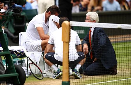 Chung ket Wimbledon: Federer vo dich nhu mo, Cilic bat khoc giua tran - Anh 8