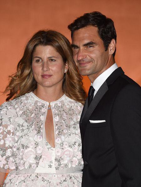 Chum anh: Roger Federer lich lam du tiec mung Nha vo dich Wimbledon - Anh 3