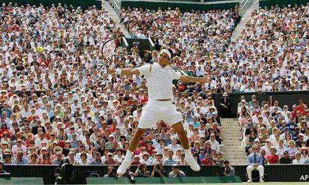 Trac nghiem the thao: Vua Federer & thanh dia Wimbledon - Anh 11