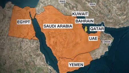 Saudi Arabia gay ap luc tan cong quan su, Qatar binh chan nhu vai - Anh 1
