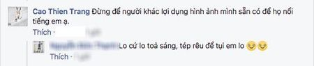 Cao Thien Trang len tieng ve tin nhan 'tha thinh' ban trai Lai Thanh Huong - Anh 7