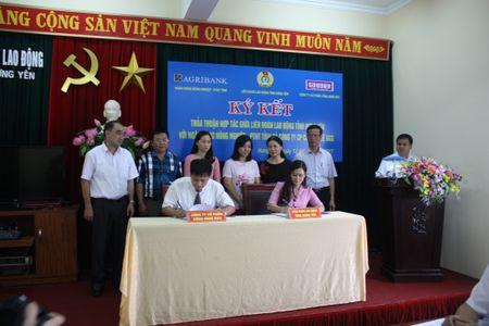 LDLD tinh Hung Yen ky thoa thuan hop tac, dem lai loi ich cho NLD - Anh 1