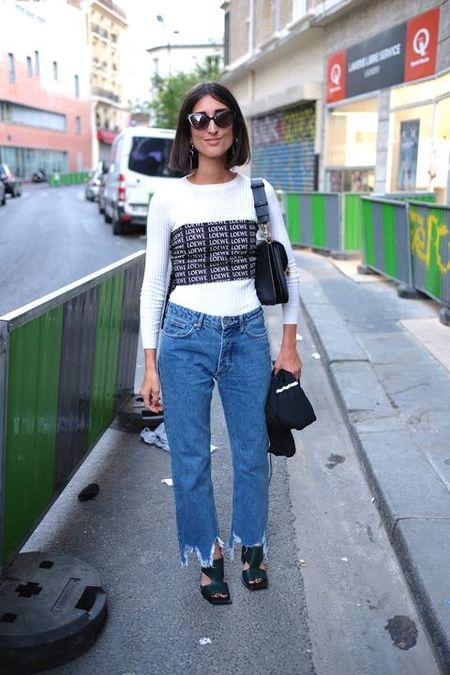 Street style ngay he cua cac co gai Phap thanh lich - Anh 4