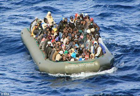 EU dua ra cac bien phap han che lan song di cu tu Libya - Anh 1