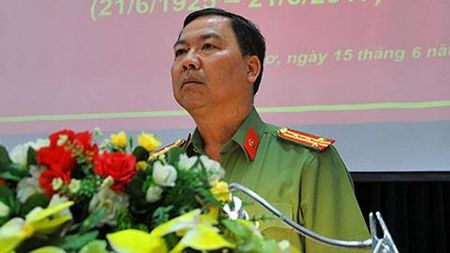 Khong co chuyen xu ly CSGT chan xe Trung tuong Vo Van Liem - Anh 1