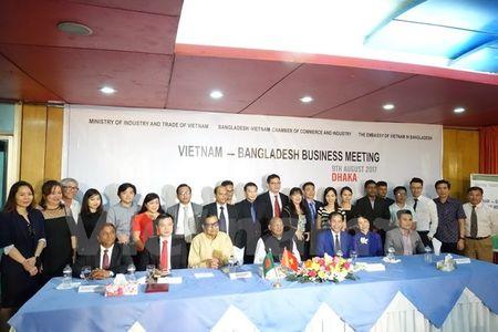 Gan 20 doanh nghiep Viet Nam sang Bangladesh xuc tien thuong mai - Anh 1