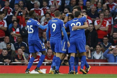 Arsenal 4-3 Leicester: Dau an tien dao - Anh 3