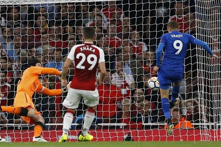 Arsenal 4-3 Leicester: Dau an tien dao - Anh 4