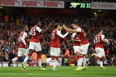 Arsenal 4-3 Leicester: Dau an tien dao - Anh 5