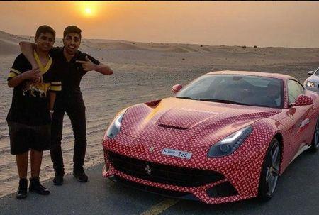 Phat soc voi cuoc song xa hoa cua thieu gia Dubai 15 tuoi - Anh 9