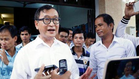 Toa phuc tham Campuchia phan quyet y an doi voi ong Sam Rainsy - Anh 1