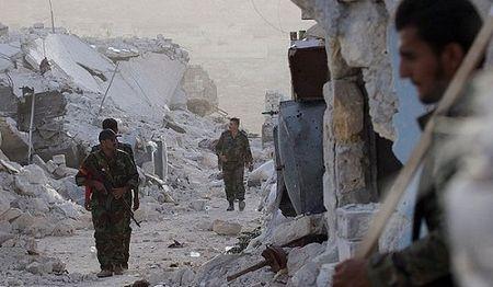 Quan doi Syria tan cong IS, giai phong khu vuc trong yeu o tinh Sweida - Anh 4