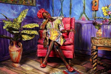 Nhung tac pham body-painting 'dinh cao' khien ban cang mat phan biet - Anh 3