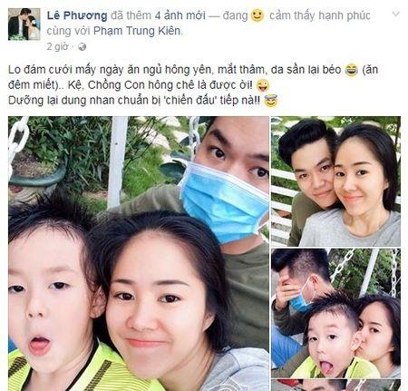 Sau dam cuoi lan 2, Le Phuong bat ngo xuong sac - Anh 2