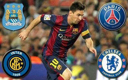 'Moi ngon' Messi 300 trieu euro: MU, Man City san sang san don - Anh 2