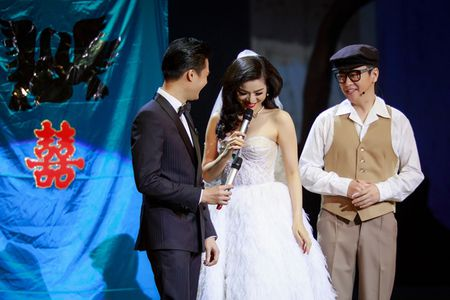 Le Quyen mac vay cuoi, uoc duoc lam co dau cua Quang Dung - Anh 5