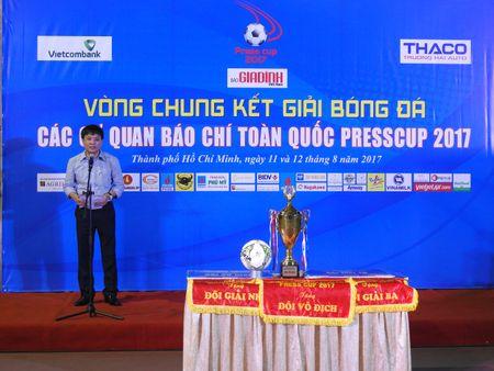 Be mac Press Cup 2017: Dai Truyen hinh Viet Nam vo dich, Bao Phap luat Viet Nam gianh giai phong cach - Anh 1