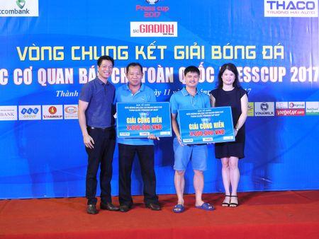 Be mac Press Cup 2017: Dai Truyen hinh Viet Nam vo dich, Bao Phap luat Viet Nam gianh giai phong cach - Anh 3