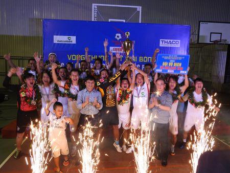 Be mac Press Cup 2017: Dai Truyen hinh Viet Nam vo dich, Bao Phap luat Viet Nam gianh giai phong cach - Anh 9