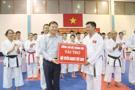 Tuyen karatedo duoc ho tro 105 trieu dong dong vien tinh than - Anh 1
