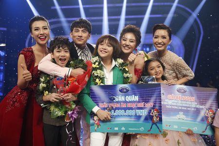 Tiet muc khong the quen cua Thien Khoi trong dem gala Than tuong am nhac Nhi - Anh 1