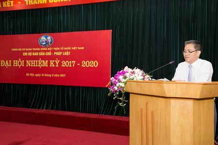 Dai hoi Chi bo Ban Dan chu - Phap luat Co quan UBTU MTTQ Viet Nam - Anh 2