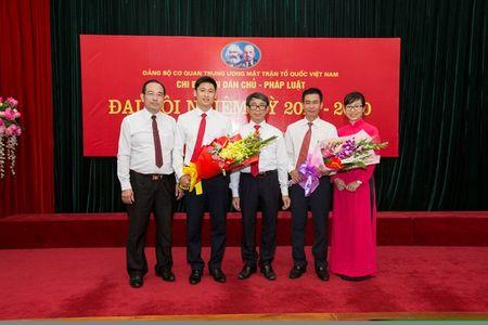 Dai hoi Chi bo Ban Dan chu - Phap luat Co quan UBTU MTTQ Viet Nam - Anh 3