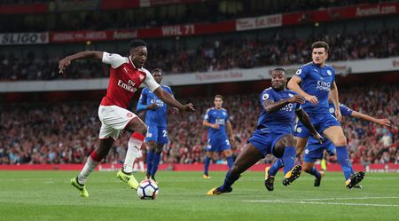 Arsenal vs Leicester (4-3): Nguoc dong ngoan muc - Anh 21