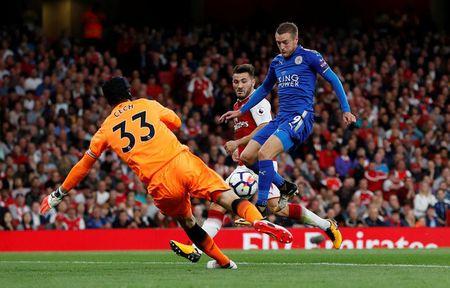Arsenal vs Leicester (4-3): Nguoc dong ngoan muc - Anh 22