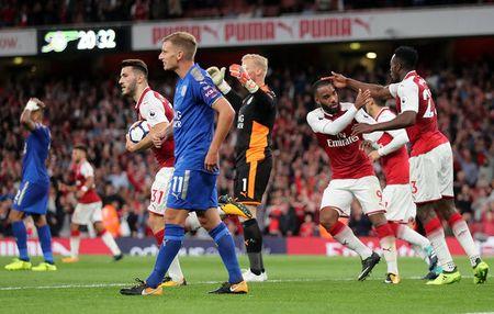 Arsenal vs Leicester (4-3): Nguoc dong ngoan muc - Anh 26
