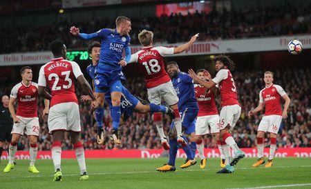 Arsenal vs Leicester (4-3): Nguoc dong ngoan muc - Anh 29
