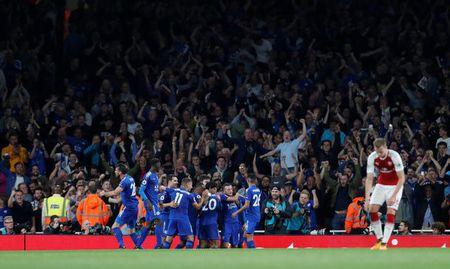 Arsenal vs Leicester (4-3): Nguoc dong ngoan muc - Anh 30