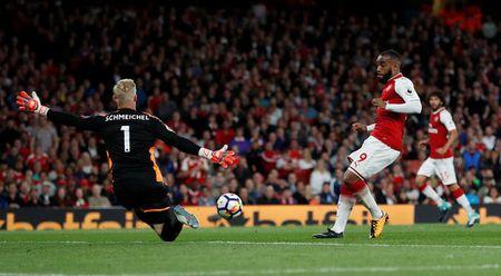 Arsenal vs Leicester (4-3): Nguoc dong ngoan muc - Anh 31