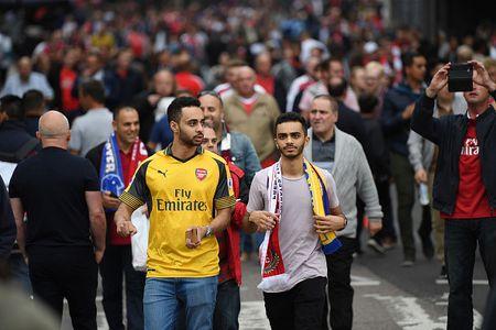 Arsenal vs Leicester (4-3): Nguoc dong ngoan muc - Anh 8
