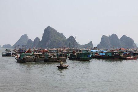 'Lac buoc' vao cang bien dep bac nhat Vinh Bac Bo - Anh 11