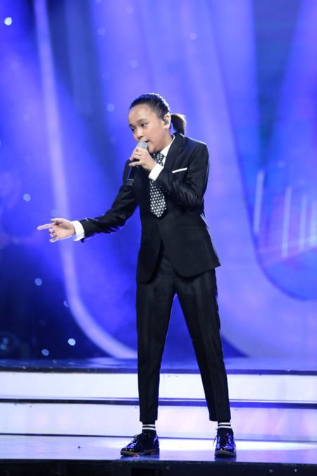 Hanh trinh tro thanh Quan quan Vietnam Idol Kids 2017 cua Thien Khoi - Anh 9