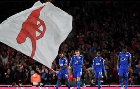 Toan canh chien thang day kich tinh cua Arsenal truoc Leicester City - Anh 16