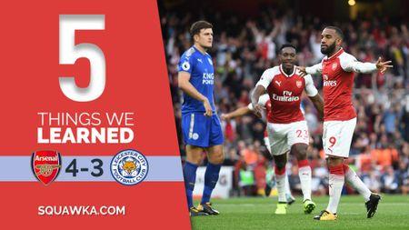 5 bai hoc tu tran Arsenal 4-3 Leicester: 'Ga son' Giroud cat tieng gay - Anh 1