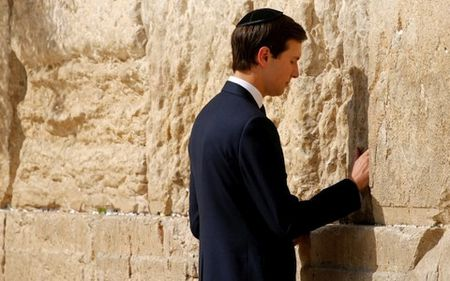 Tong thong Trump de con re ban thao ve hoa dam Palestine-Israel - Anh 1
