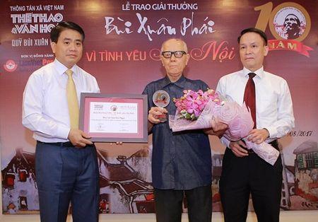Vinh danh y tuong 've lai' buc tranh giao thong 'Vi tinh yeu Ha Noi' - Anh 1