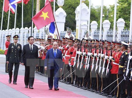 Thu tuong Nguyen Xuan Phuc va phu nhan tham Thai Lan - Anh 1